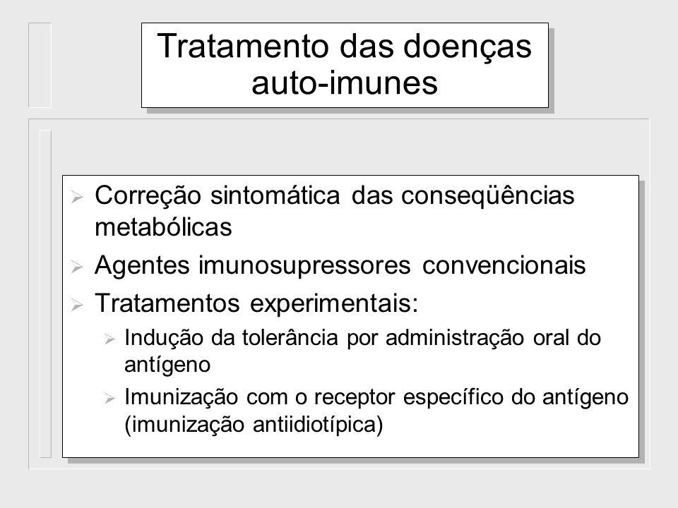 Tratamento das doenças auto-imunes