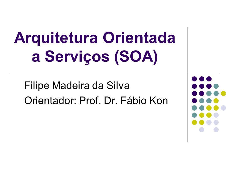 Arquitetura Orientada a Serviços (SOA)