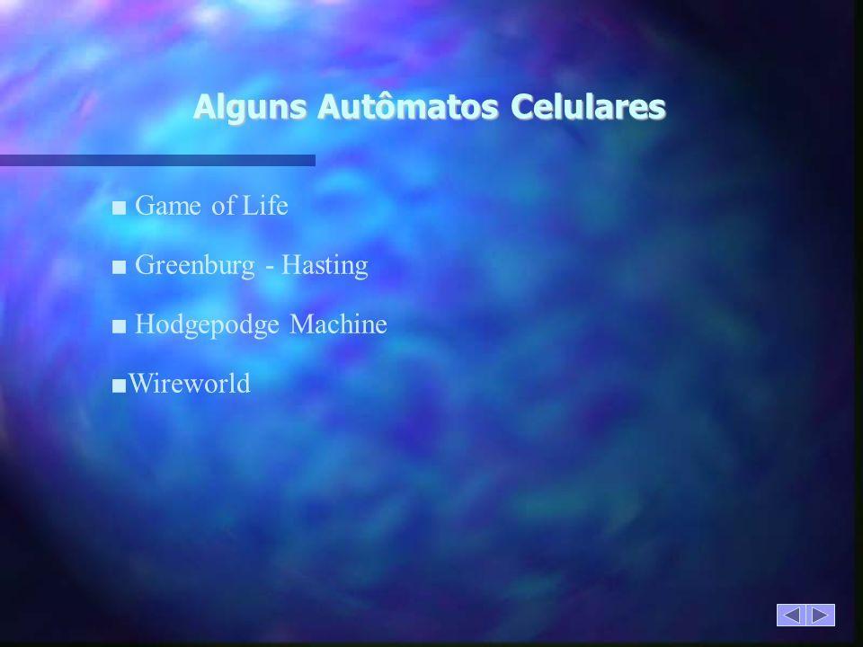 Alguns Autômatos Celulares
