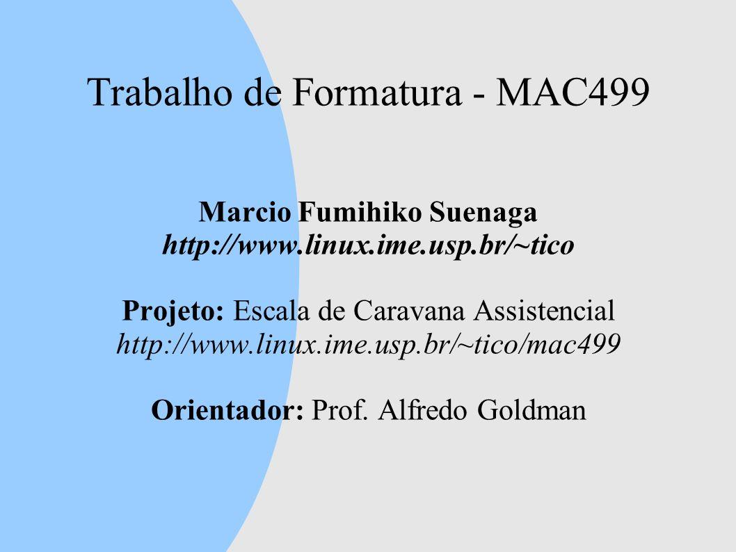 Trabalho de Formatura - MAC499