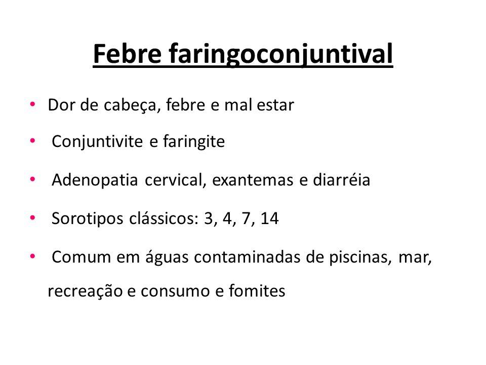 Febre faringoconjuntival