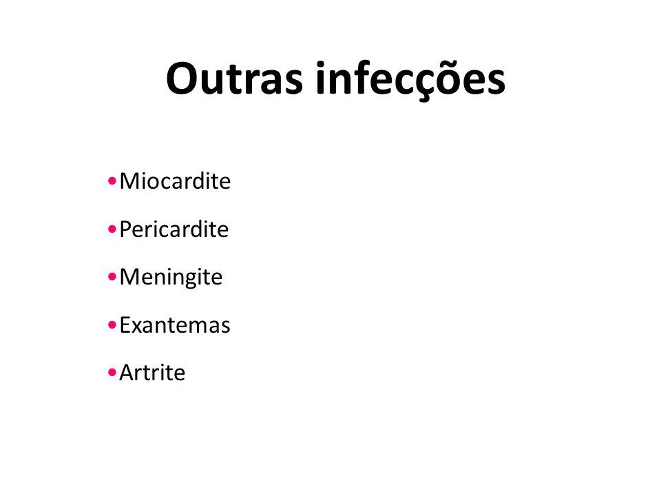 Miocardite Pericardite Meningite Exantemas Artrite