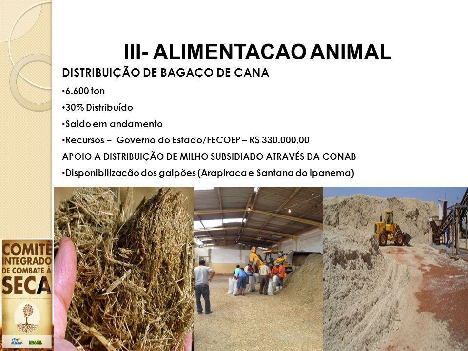 III- ALIMENTACAO ANIMAL