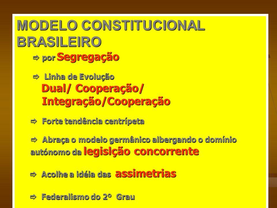 MODELO CONSTITUCIONAL BRASILEIRO