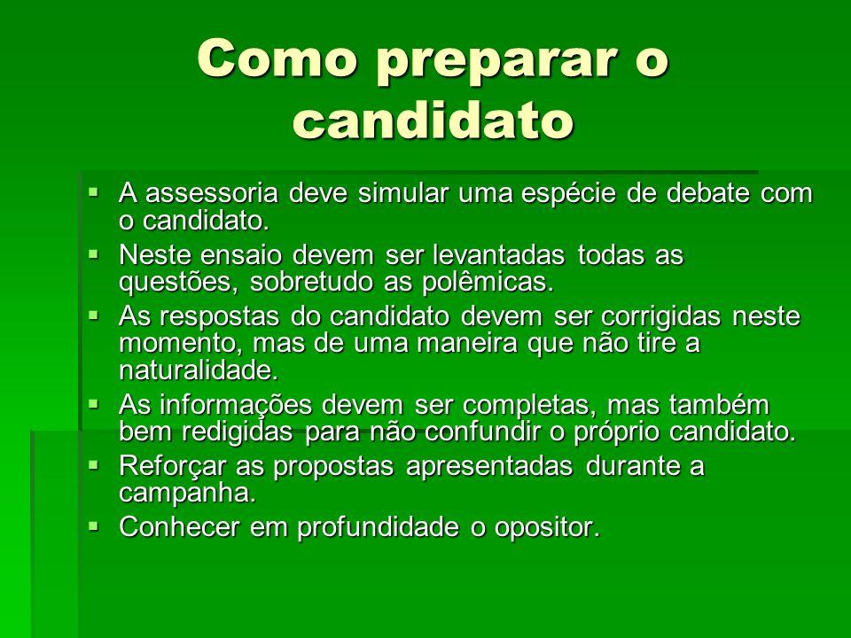 Como preparar o candidato