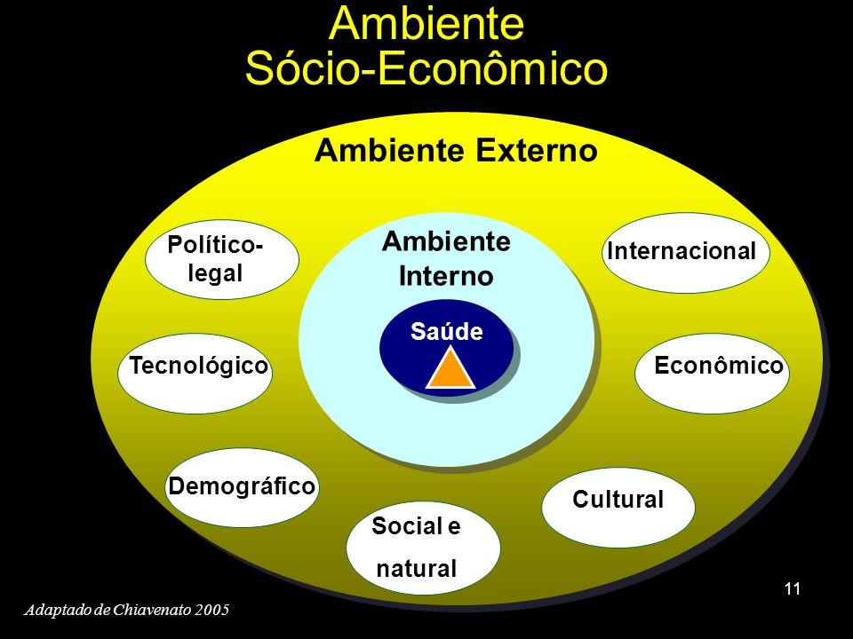 Ambiente Sócio-Econômico