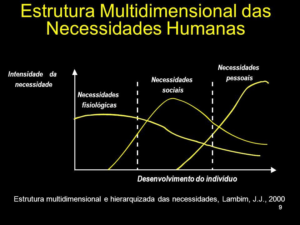 Estrutura Multidimensional das Necessidades Humanas