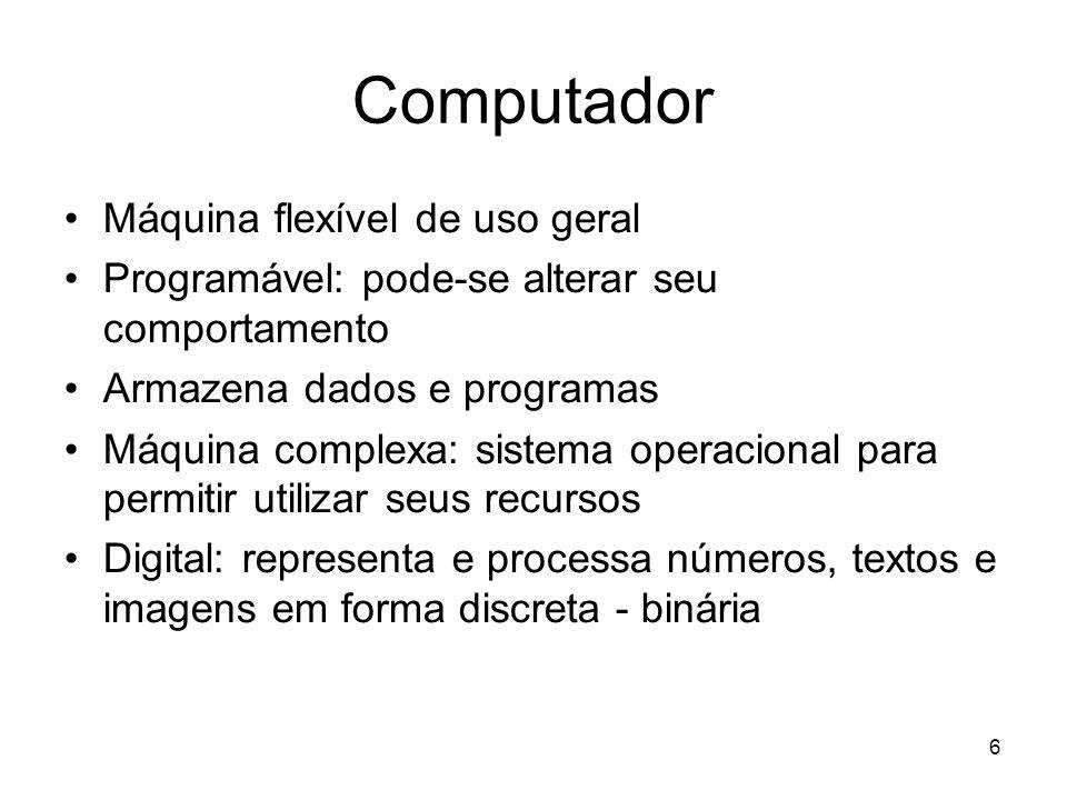 Computador Máquina flexível de uso geral