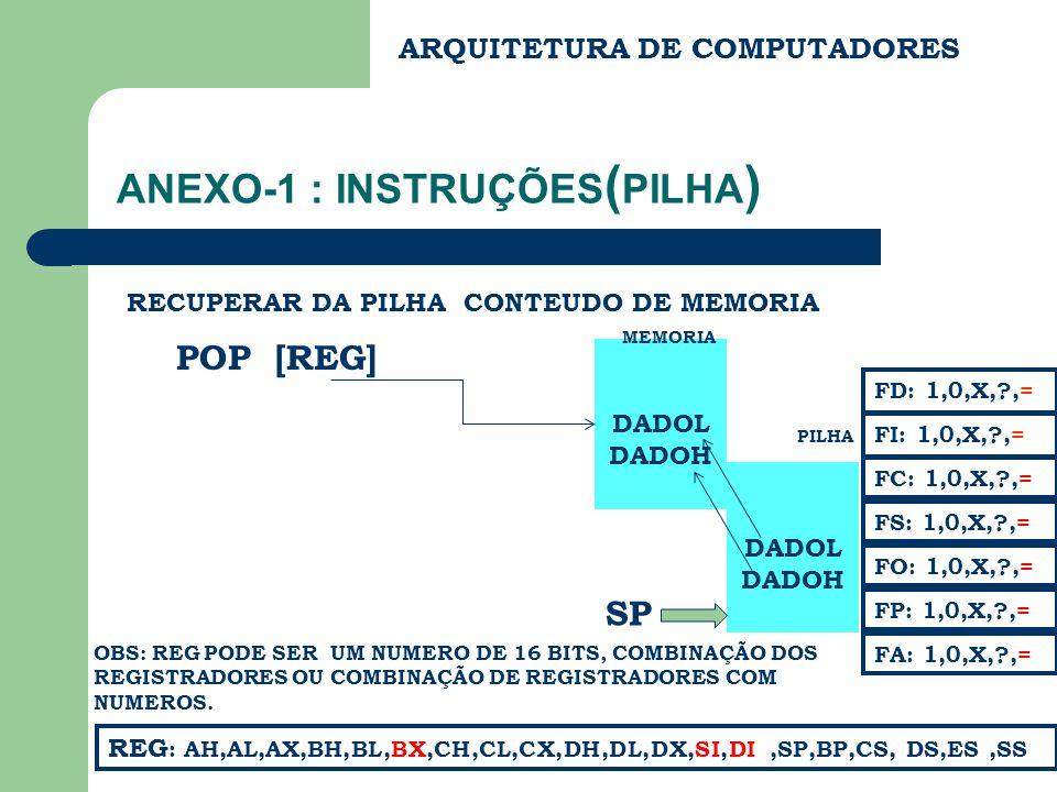 ANEXO-1 : INSTRUÇÕES(PILHA)