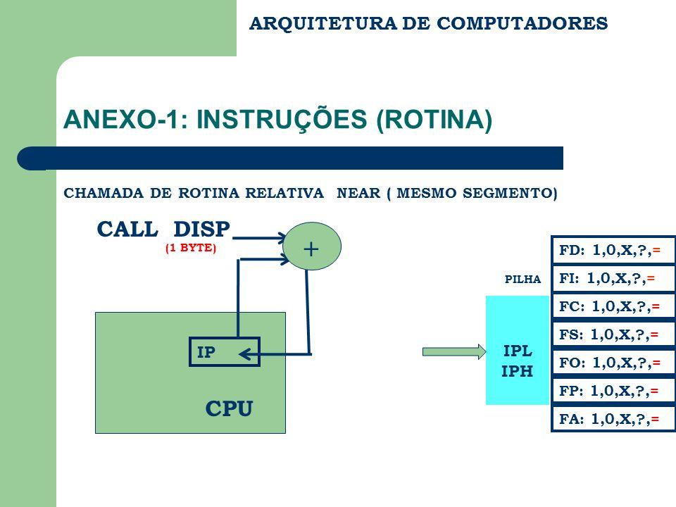 ANEXO-1: INSTRUÇÕES (ROTINA)