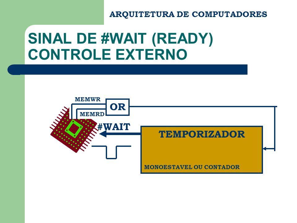 SINAL DE #WAIT (READY) CONTROLE EXTERNO