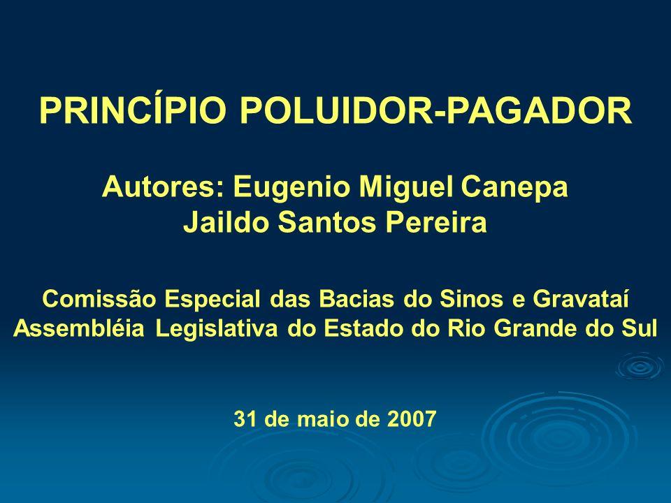 PRINCÍPIO POLUIDOR-PAGADOR