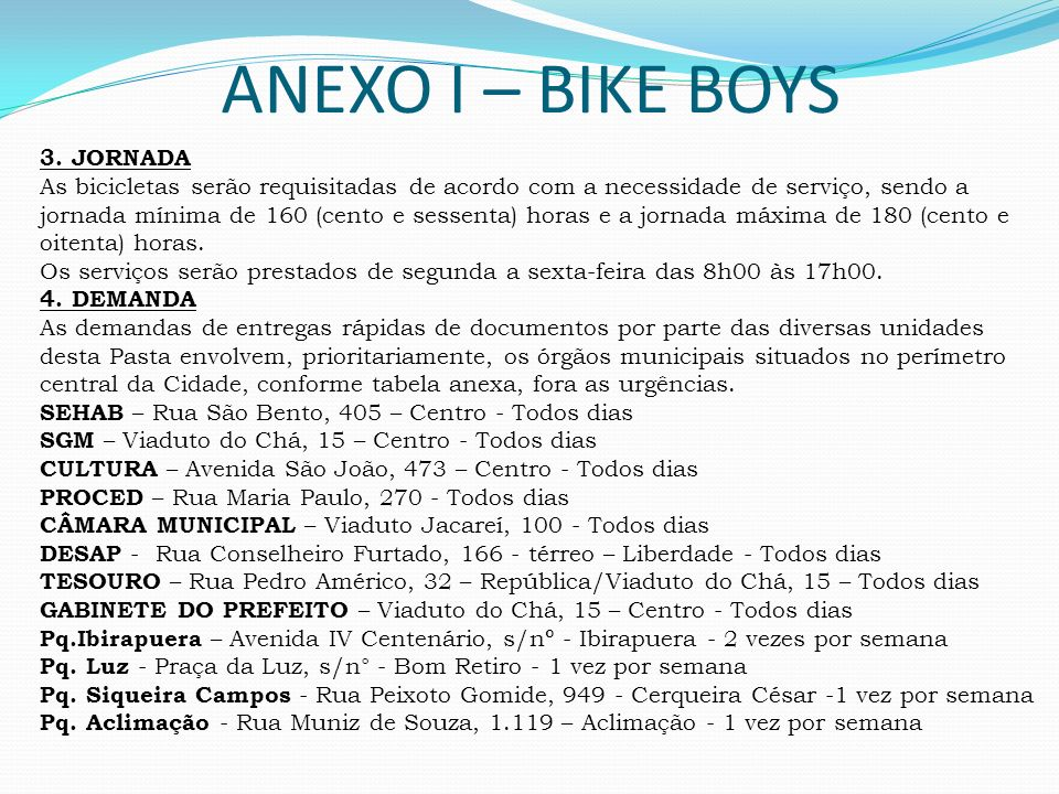 ANEXO I – BIKE BOYS 3. JORNADA
