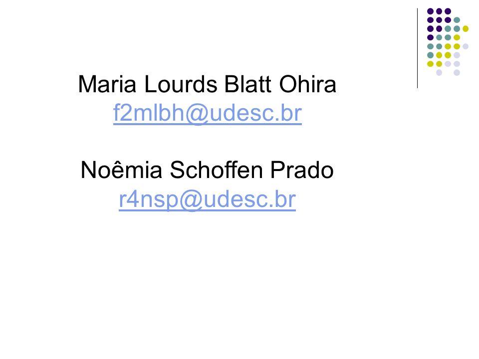 Maria Lourds Blatt Ohira