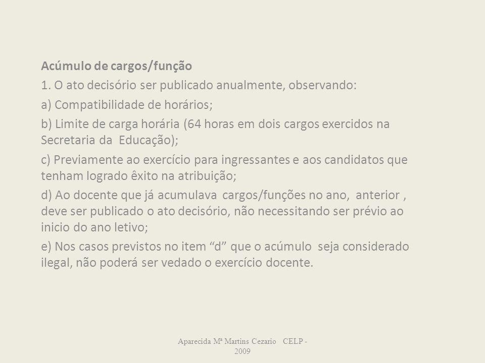 Aparecida Mª Martins Cezario CELP -2009