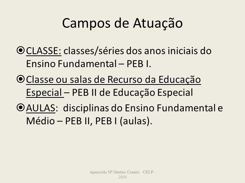 Aparecida Mª Martins Cezario CELP -2010