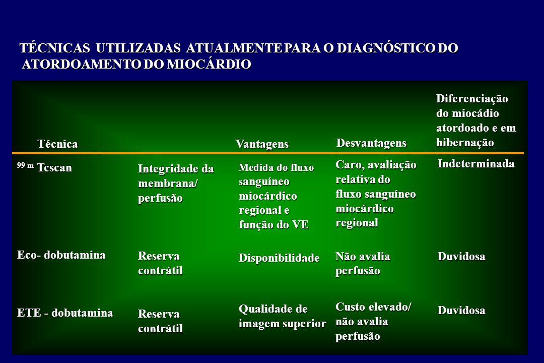 TÉCNICAS UTILIZADAS ATUALMENTE PARA O DIAGNÓSTICO DO