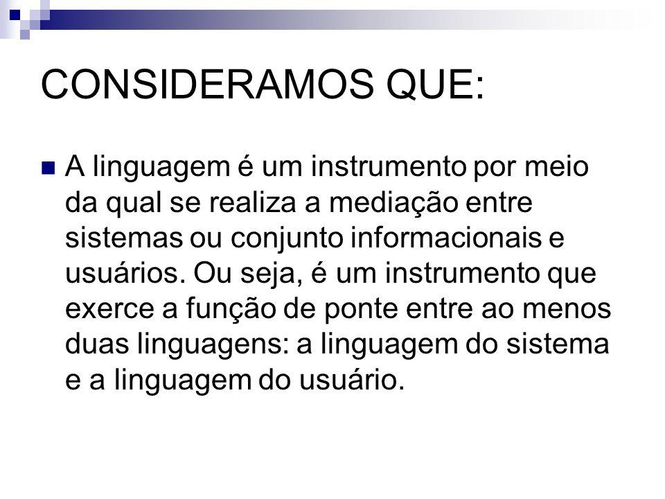 CONSIDERAMOS QUE:
