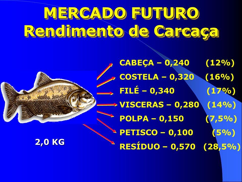 MERCADO FUTURO Rendimento de Carcaça