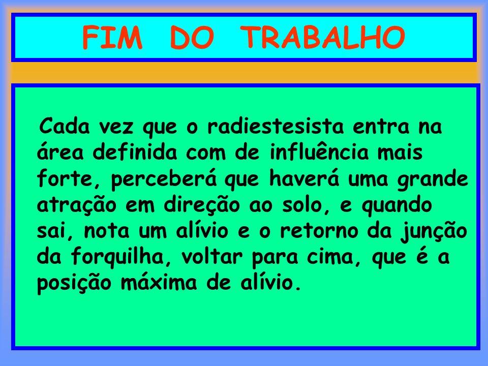 FIM DO TRABALHO