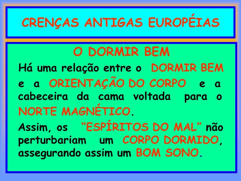 CRENÇAS ANTIGAS EUROPÉIAS