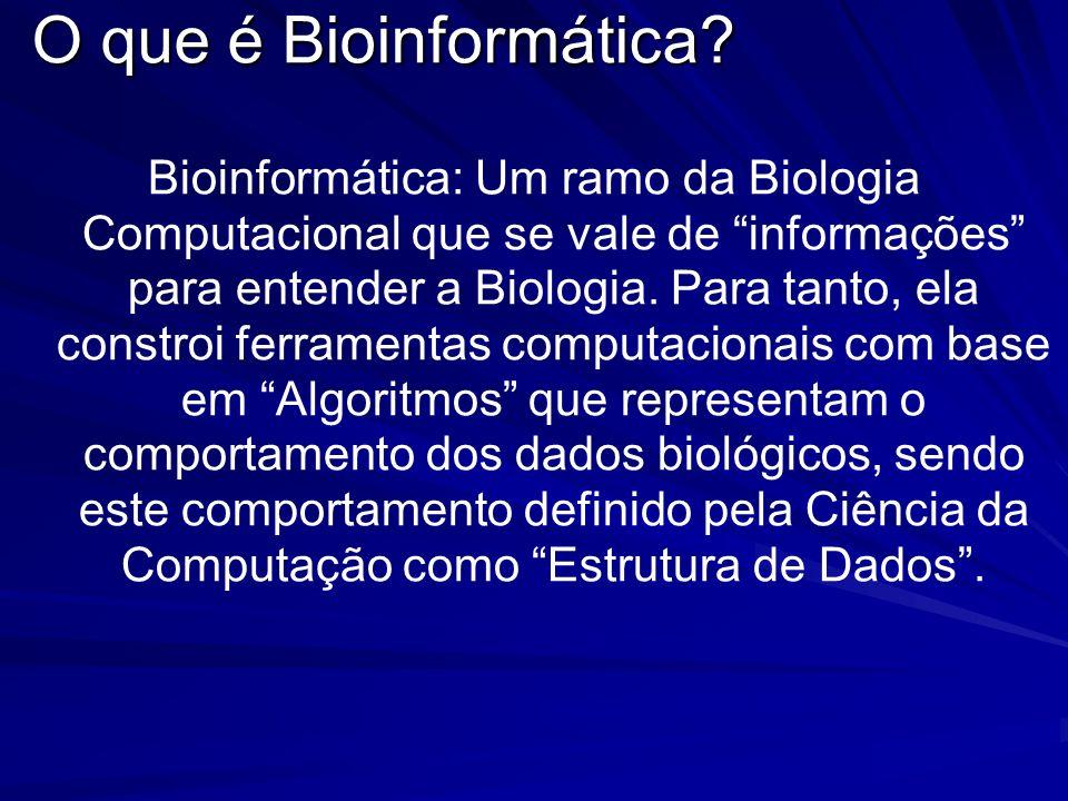 O que é Bioinformática