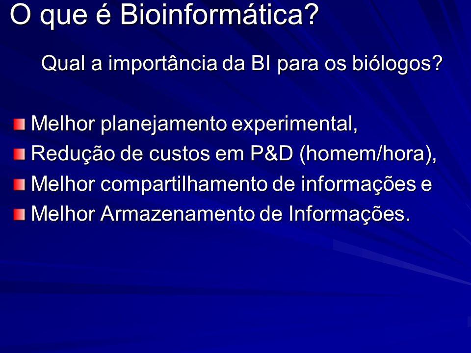 Qual a importância da BI para os biólogos
