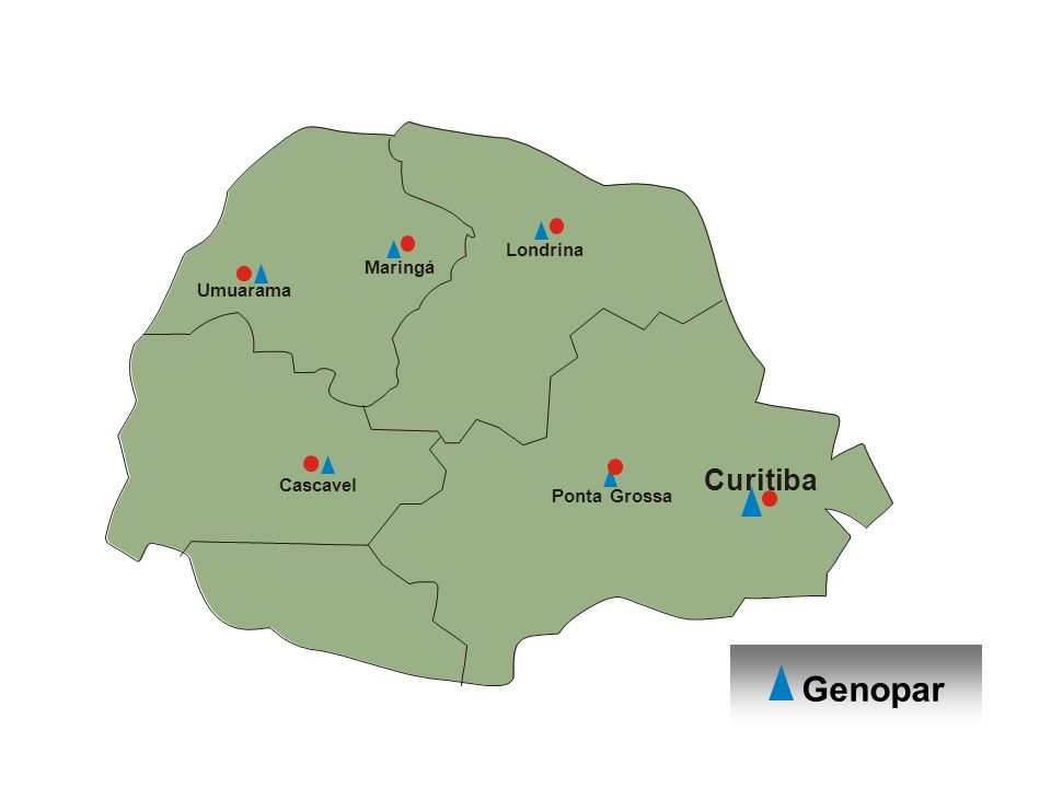 Genopar Curitiba Londrina Maringá Umuarama Cascavel Ponta Grossa