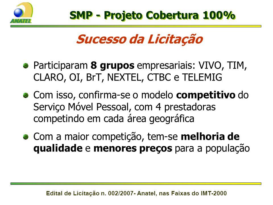 SMP - Projeto Cobertura 100%