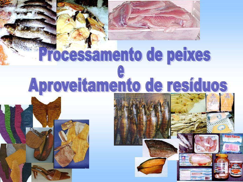 Processamento de peixes
