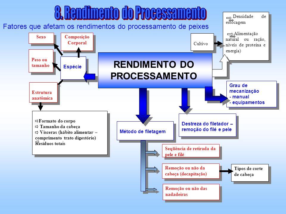 RENDIMENTO DO PROCESSAMENTO