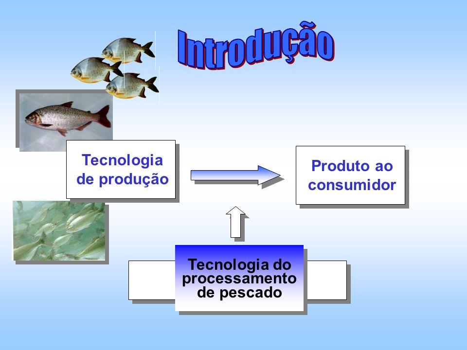 Tecnologia de produção Tecnologia do processamento de pescado