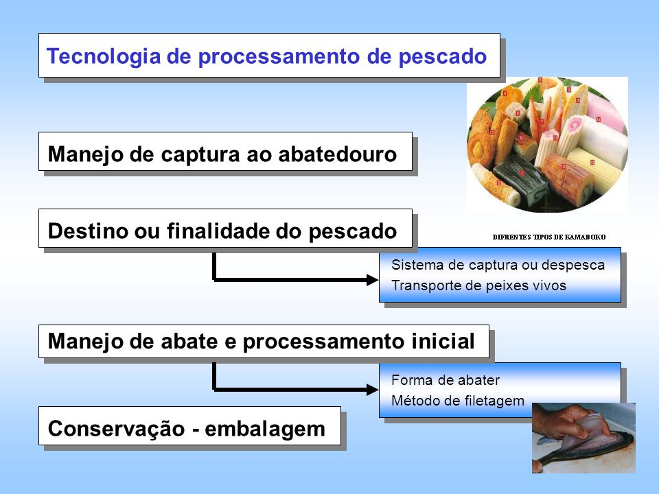 Tecnologia de processamento de pescado