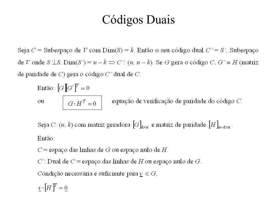Códigos Duais