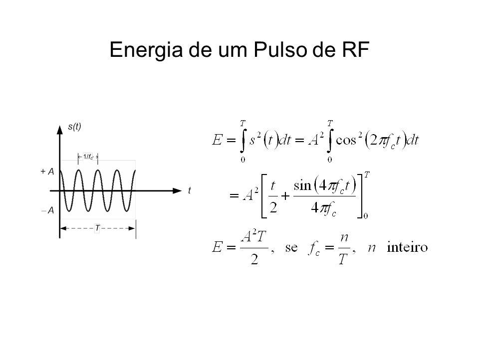 Energia de um Pulso de RF