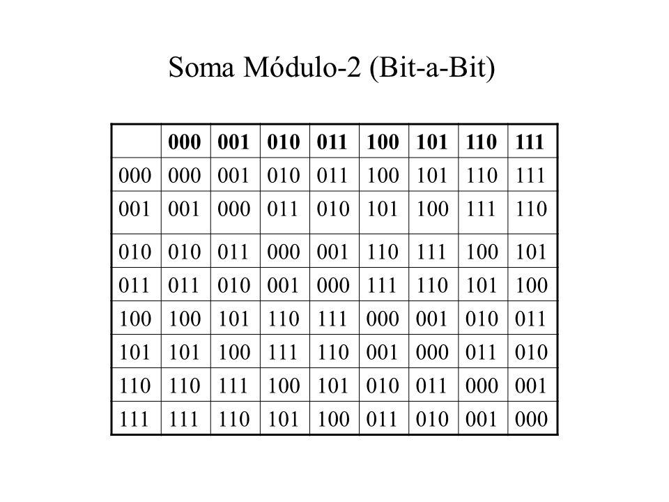 Soma Módulo-2 (Bit-a-Bit)