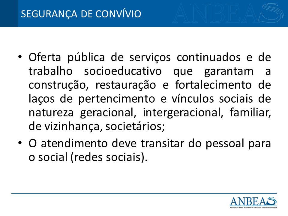 O atendimento deve transitar do pessoal para o social (redes sociais).