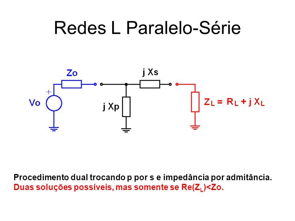 Redes L Paralelo-Série