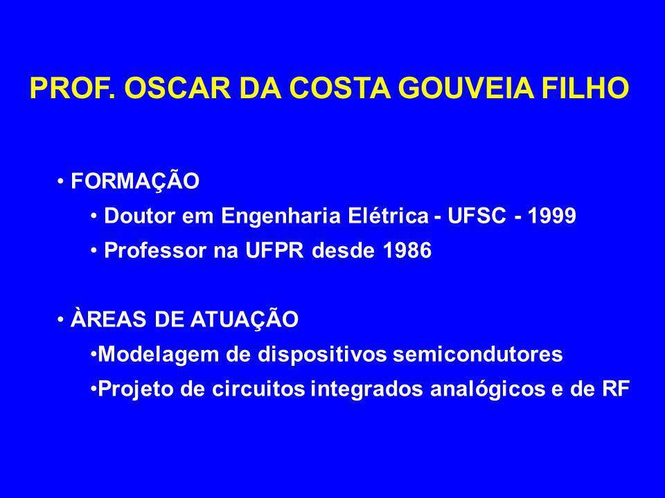PROF. OSCAR DA COSTA GOUVEIA FILHO