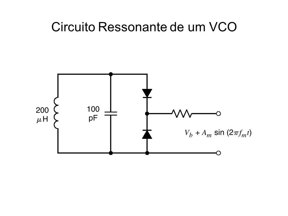 Circuito Ressonante de um VCO