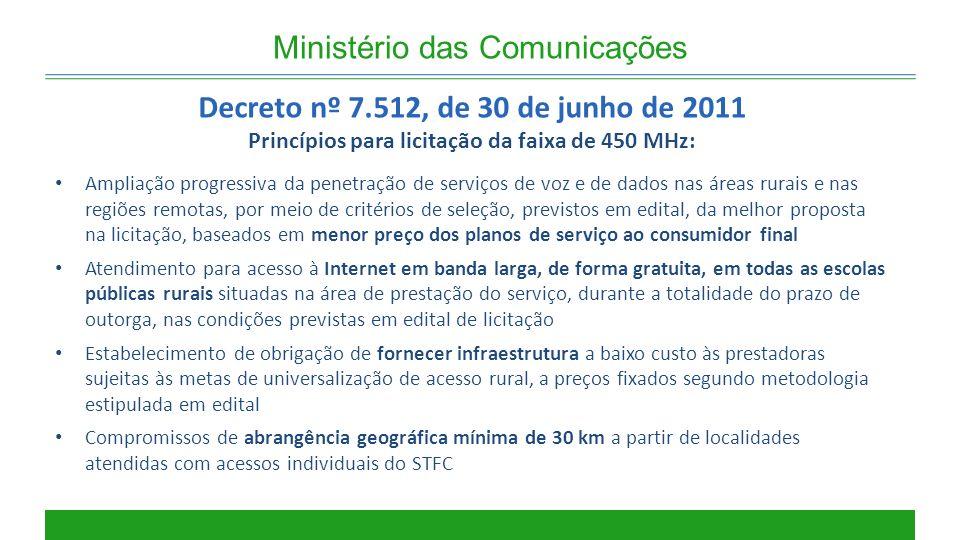 Decreto nº 7.512, de 30 de junho de 2011