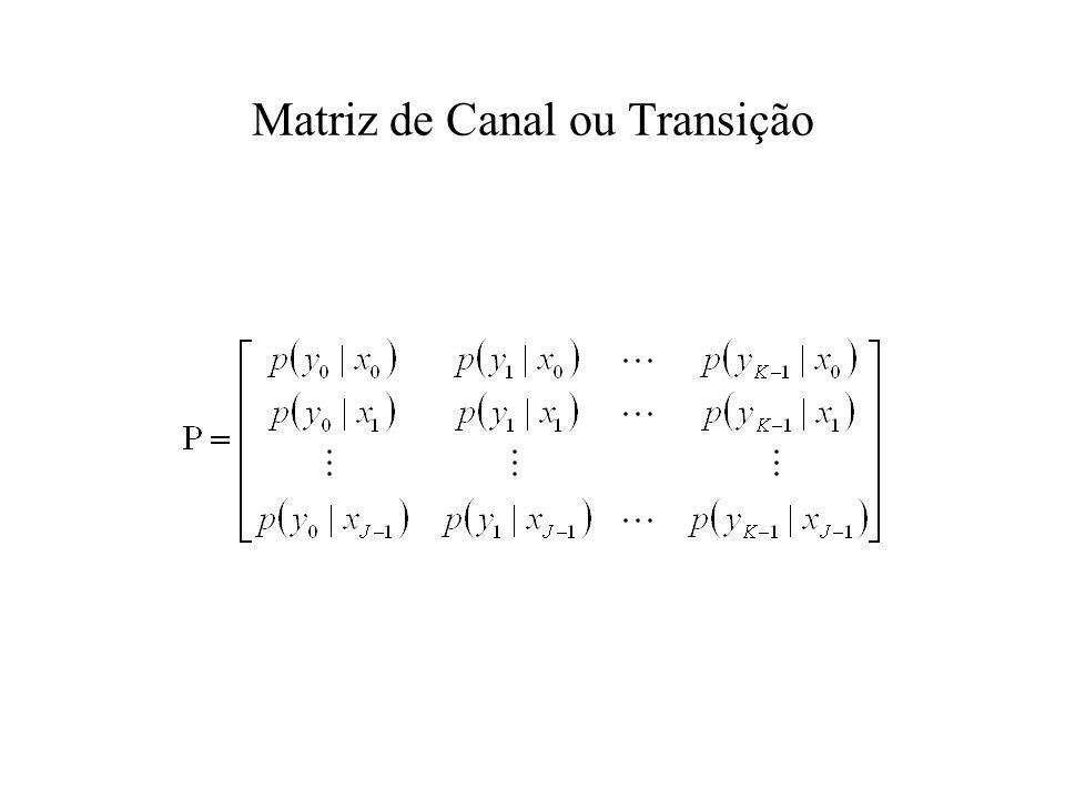 Matriz de Canal ou Transição