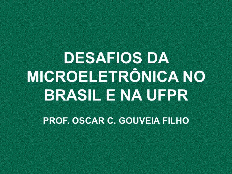 DESAFIOS DA MICROELETRÔNICA NO BRASIL E NA UFPR