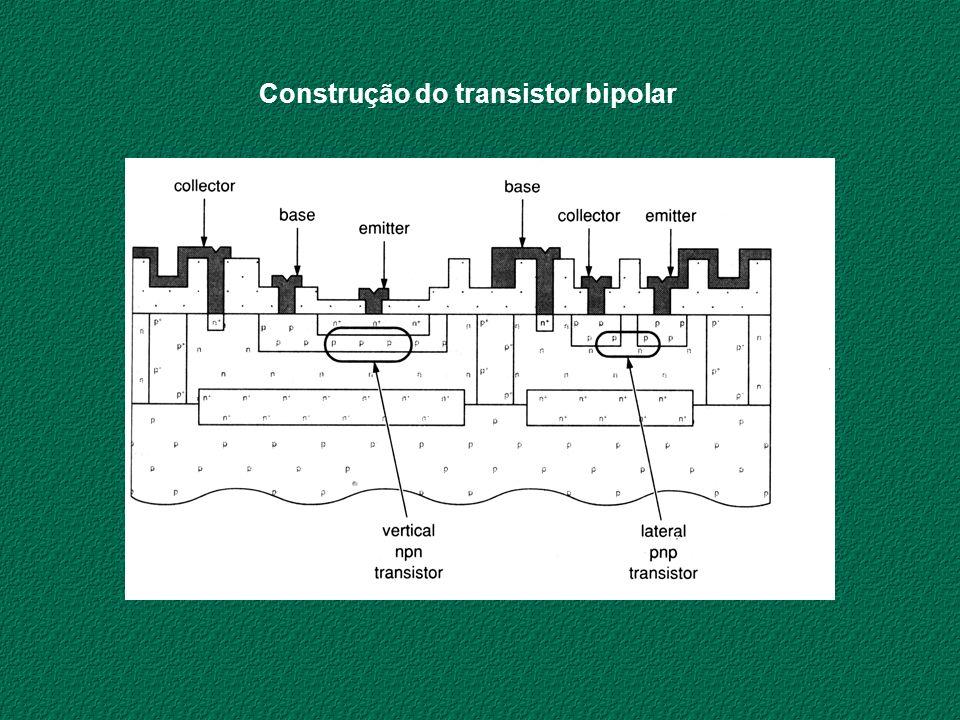 Construção do transistor bipolar