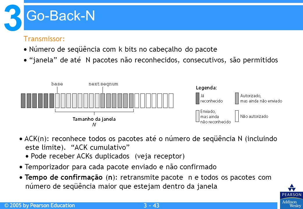 Go-Back-N Transmissor: