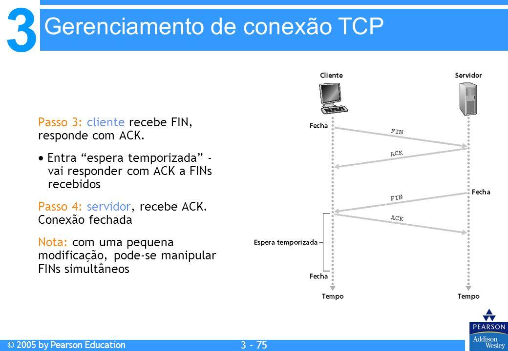 Gerenciamento de conexão TCP