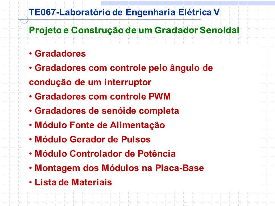 TE067-Laboratório de Engenharia Elétrica V