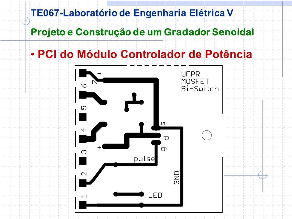 PCI do Módulo Controlador de Potência