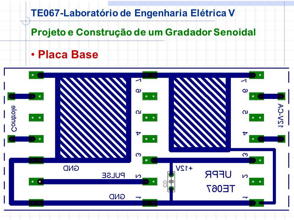 Placa Base TE067-Laboratório de Engenharia Elétrica V