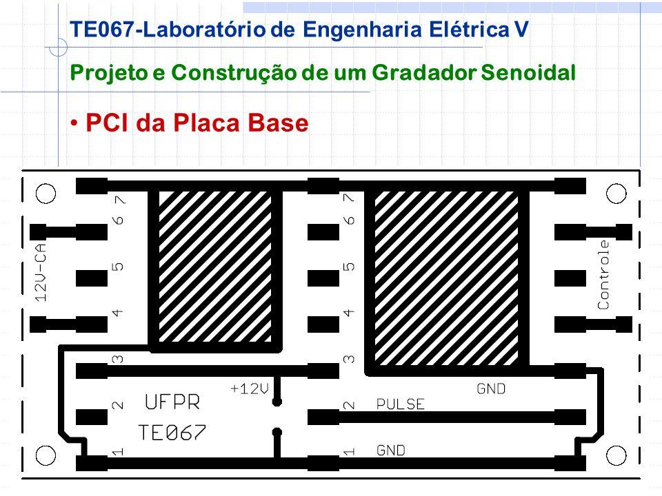 PCI da Placa Base TE067-Laboratório de Engenharia Elétrica V